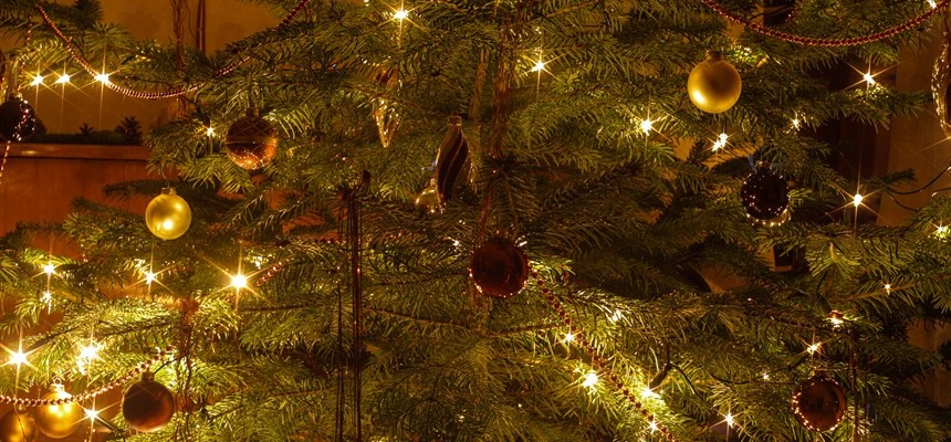 baby jesus thor and the origin of the christmas tree - The Origin Of The Christmas Tree